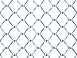 CHAINLINK FENCING - Hot Dipped Galvanized Chainlink Fencing
